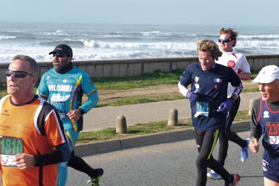 La carrera 5 km fue la primera de las 14 disciplinas que tienen los Juegos Mundiales para Trasplantados 2015.