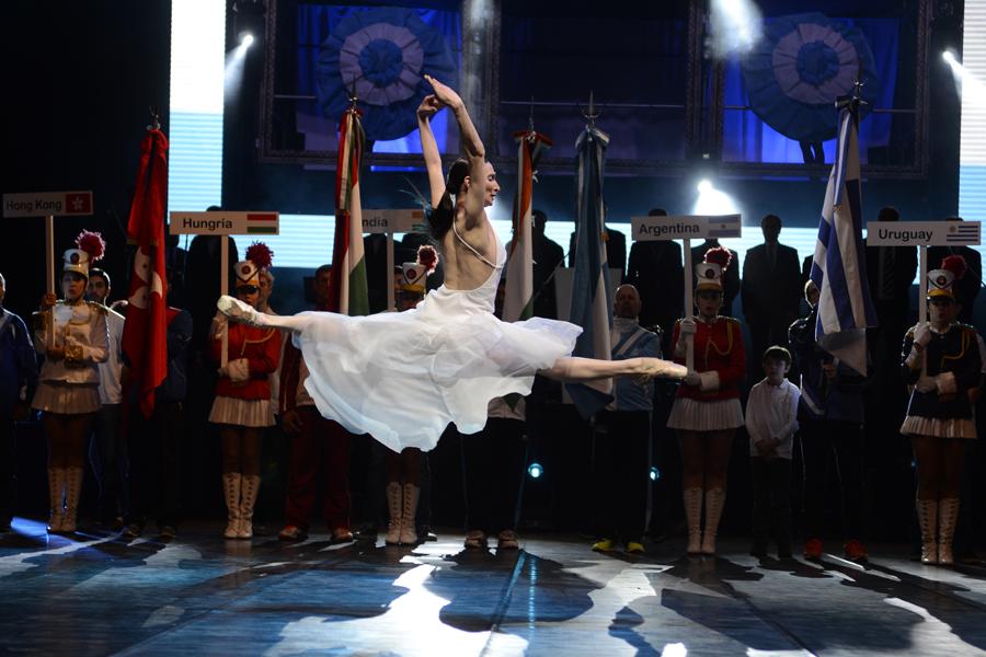 La bailarina Montserrat Otegui.