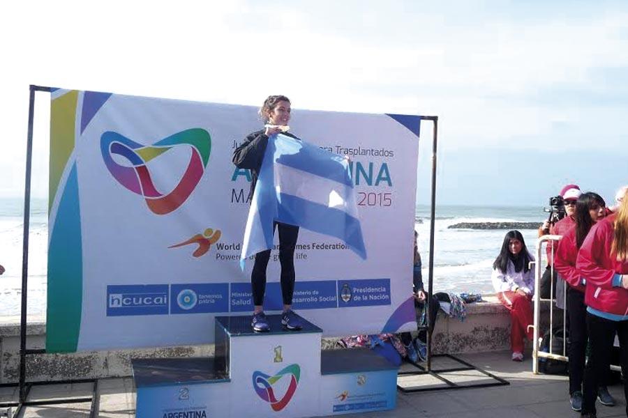 Miles de personas participan en Mar del Plata del evento deportivo más importante del mundo para personas trasplantadas.