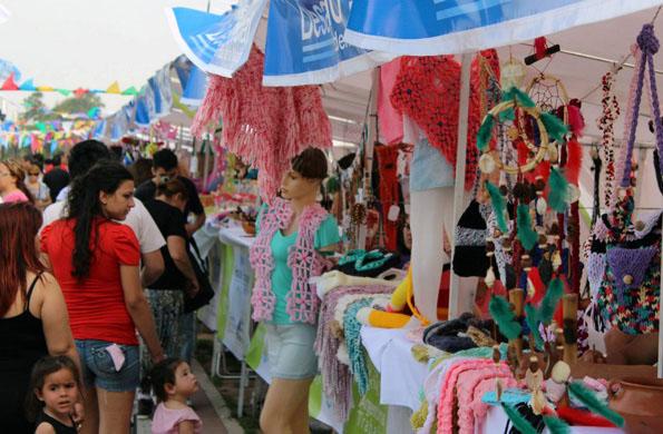 La nueva feria permanente se organizó en la ciudad santafesina de Granadero Baigorria.