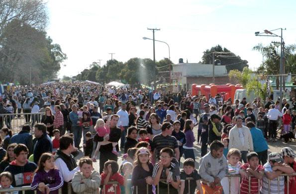 En el primer fin de semana, que coincidió con el día del niño, asistieron más de 5000 personas.