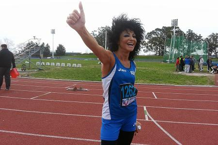 Monia Cradi es italiana y participa de los XX Juegos Mundiales para Trasplantados 2015.