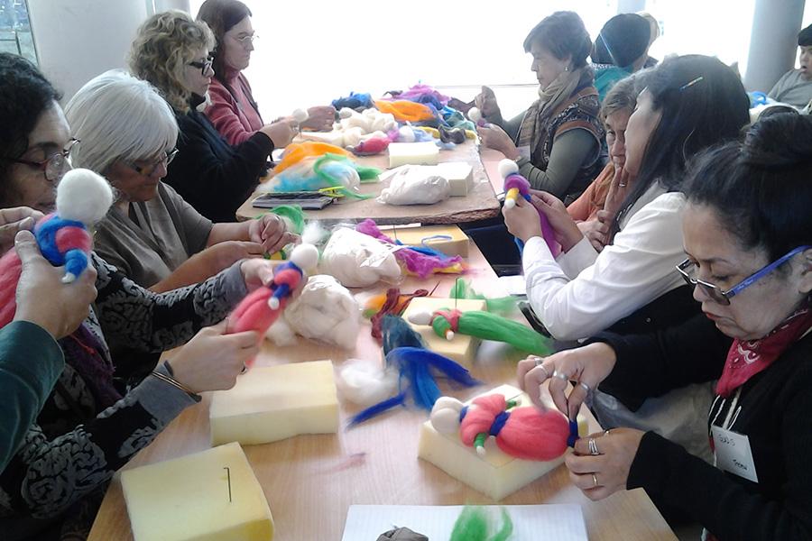 Participaron más de 150 artesanos de Argentina, Chile  México y España.