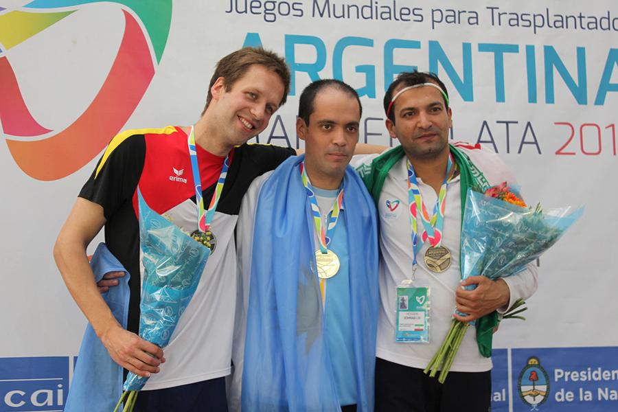 En el Natatorio Alberto Zorrilla de Mar del Plata, el argentino Lucas Ferrini .se quedó con el oro.