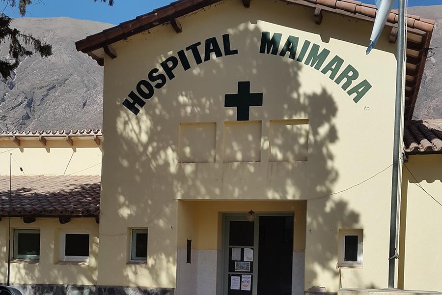 Se ofrecieron talleres sobre RBC para más de 45 agentes sanitarios, enfermeras y educadores para la salud en el Hospital de Maimará.