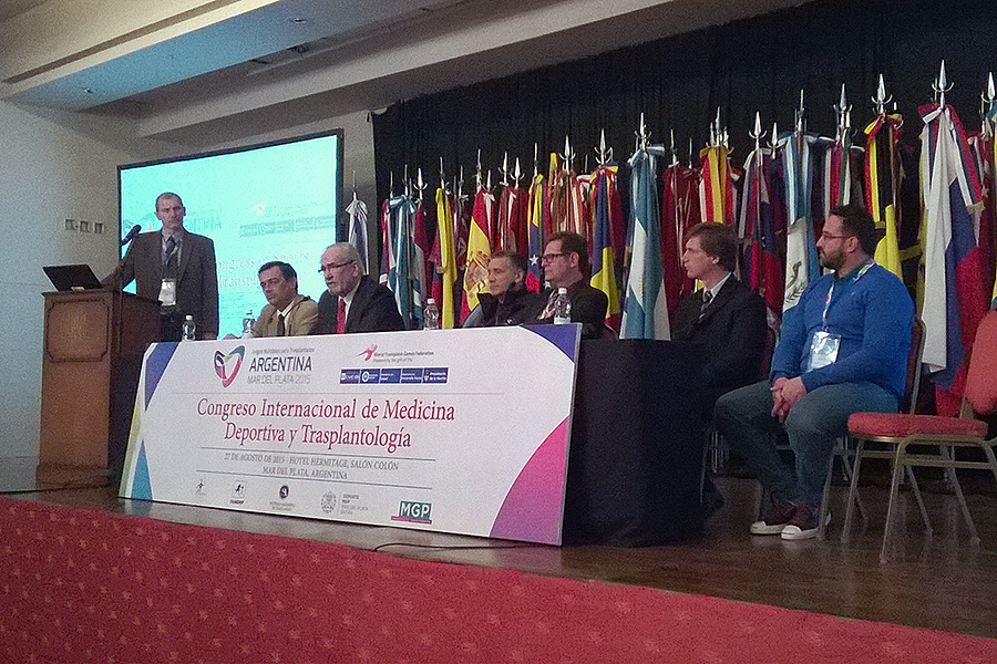 Con la participación de referentes nacionales y extranjeros del deporte y la trasplantología, finalizó ayer el Congreso Internacional de Medicina Deportiva y Trasplantología.