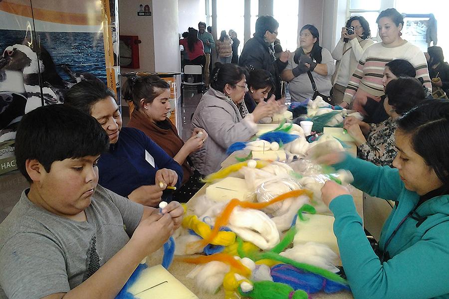 El evento contó con espacios de encuentro y reflexión en los que se priorizó el trabajo en equipo de los artesanos dentro de la lógica de la sustentabilidad.