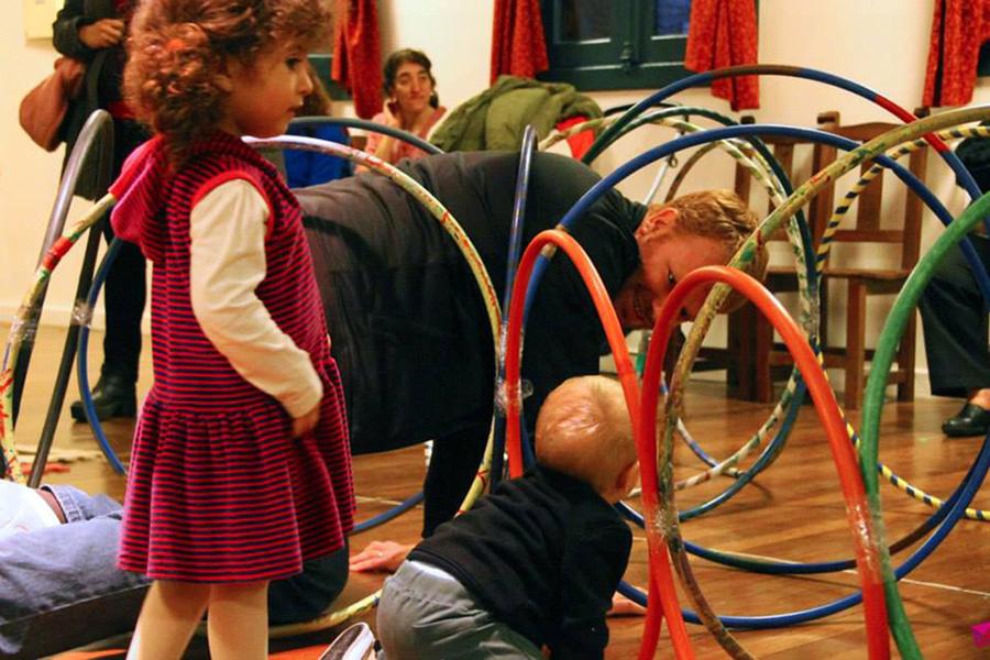 Además, realizaron juegos recreativos y participaron de espectáculos de circo.