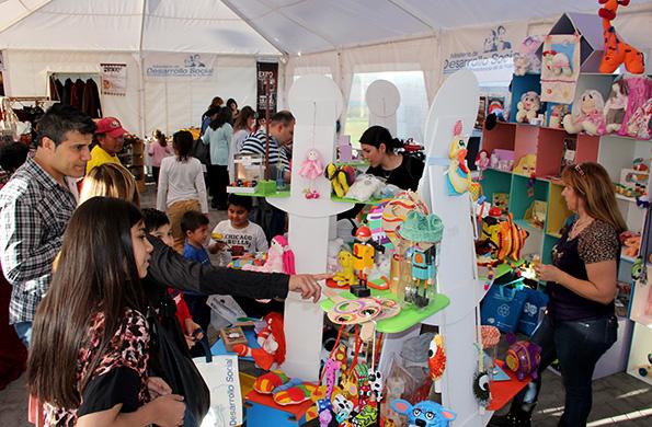 Emprendedores de las Ferias Permanentes de Mendoza se sumaron a esta propuesta.