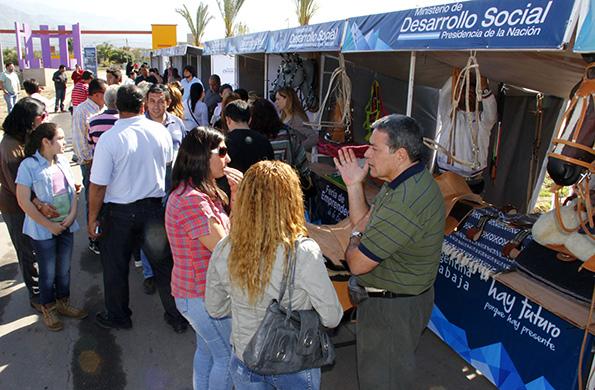 Las Ferias Permanentes están ubicadas en distintos puntos del país.