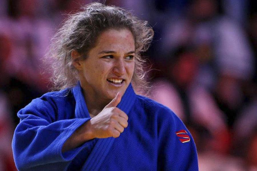 La judoca logró la medalla de oro en la categoría hasta 48 kg. tras vencer en la final a la japonesa Haruna Asami.