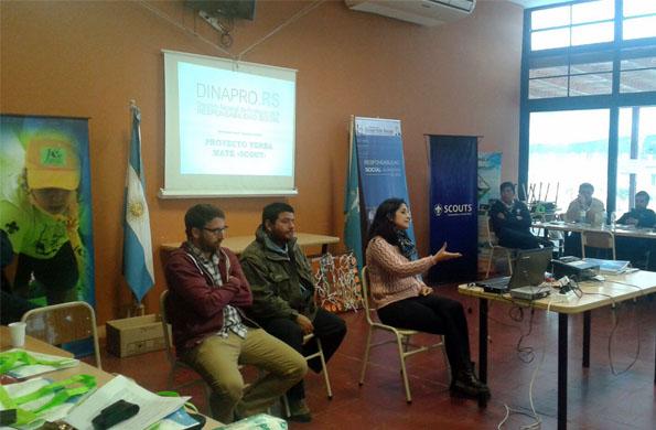 Desarrollo Social participó de un encuentro nacional de educadores scouts.