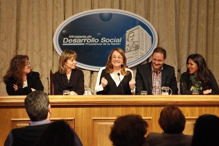 La presentación se llevó a cabo en la sede del Ministerio de  Desarrollo Social.