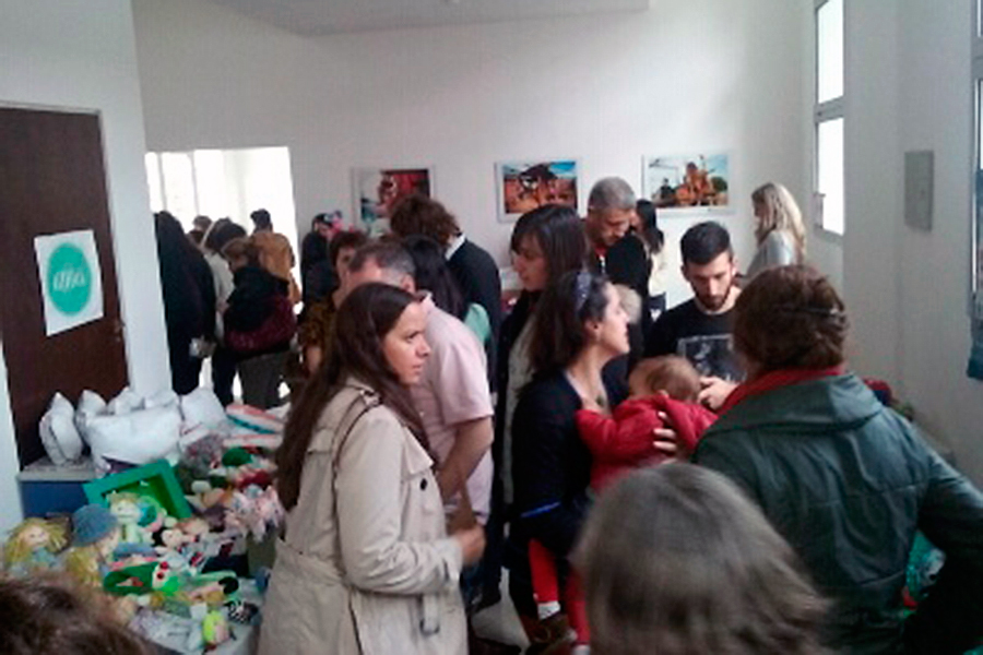 Se organizó un espacio de compras sustentables.