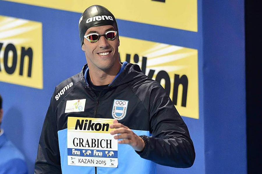 Fue en la final de los 100 metros libre con una marca de 48s12.