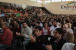 Más de dos mil jóvenes participaron de un foro por la ley nacional de juventud.