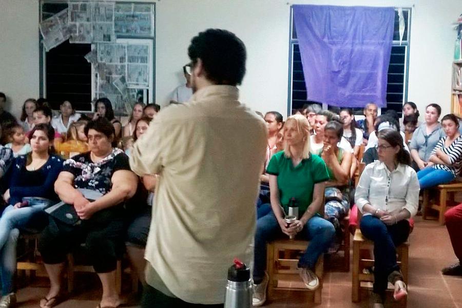Se realizaron talleres sobre noviazgos sin violencia en Misiones.