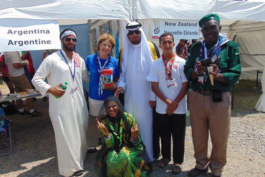 Este evento reunió a más de 33 mil scouts de 150 países.