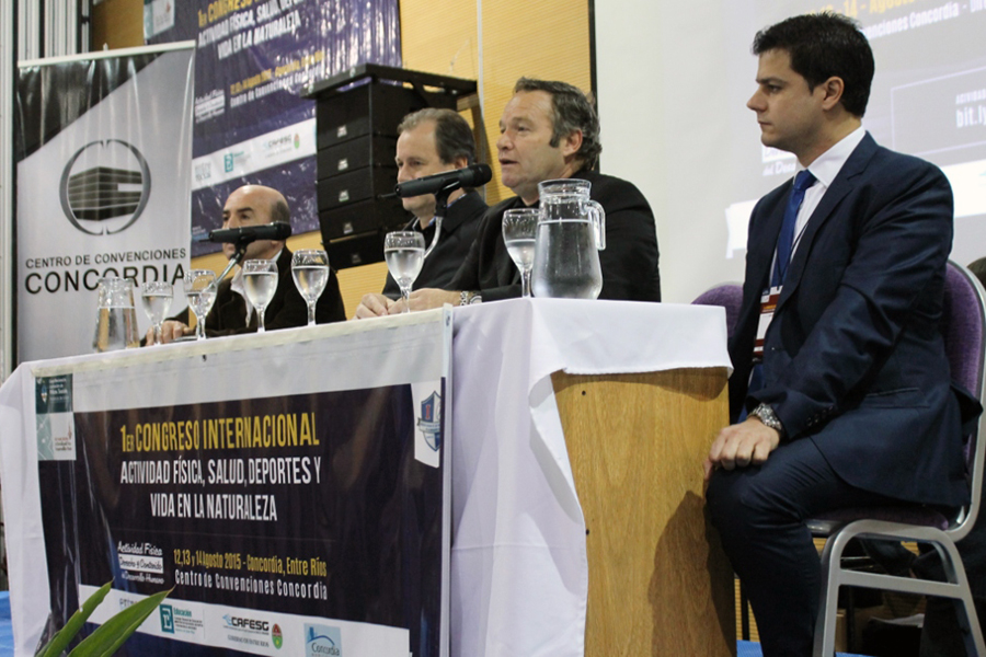 El evento tuvo lugar la semana pasada en la ciudad de Concordia.
