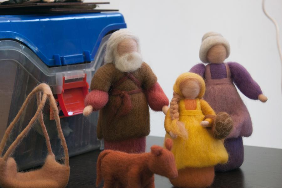 Se buscará promover el intercambio de experiencias y transmisión de saberes referidos a la lana.