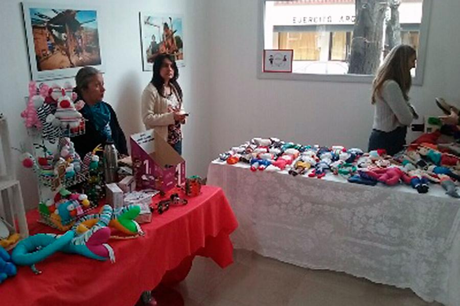 La iniciativa se organizó bajo las premisas de  consumo responsable y compras inclusivas.