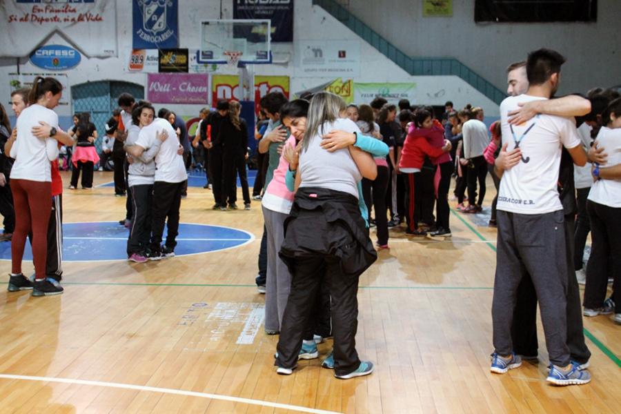 De la jornada participaron más de 2 mil personas, entre ellos miembros de la CONADIS.