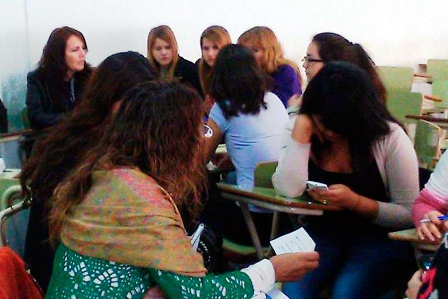 Además se realizó el tercer encuentro a multiplicadores locales en Trelew.