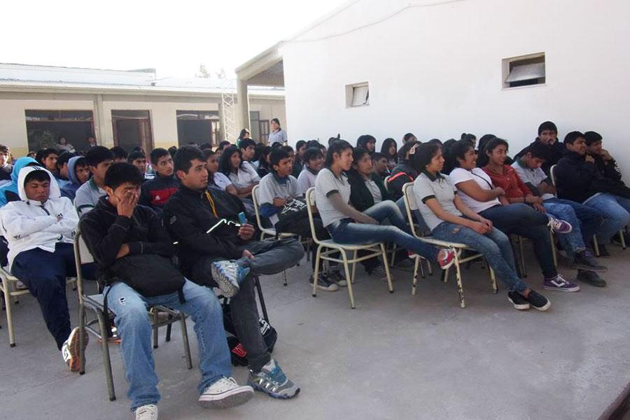 Las funciones se llevaron adelante en distintos colegios salteños.
