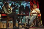 La entrevista tuvo lugar el sábado pasado.
