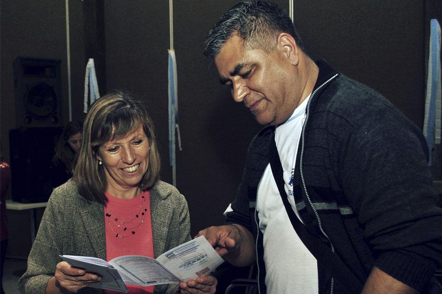 Elli Quirino y Noelia Casa Cuna estuvieron a cargo de la música.