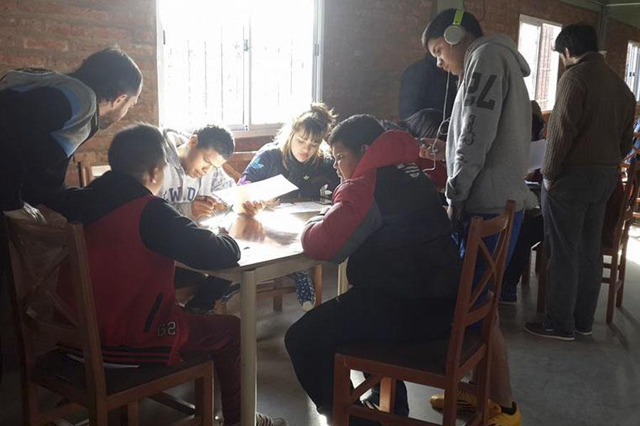 La jornada se realizó la semana pasada en el Instituto Madre del Pueblo del barrio porteño de bajo flores.