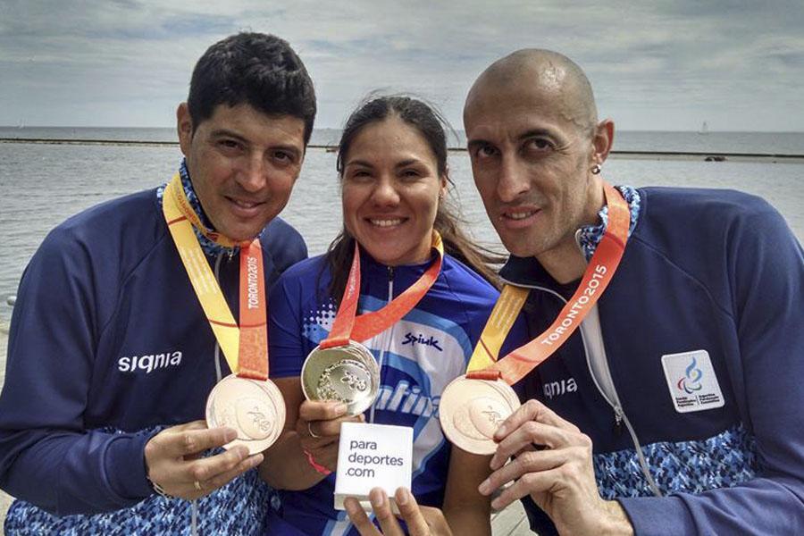 La disciplina que más medallas logró es natación.