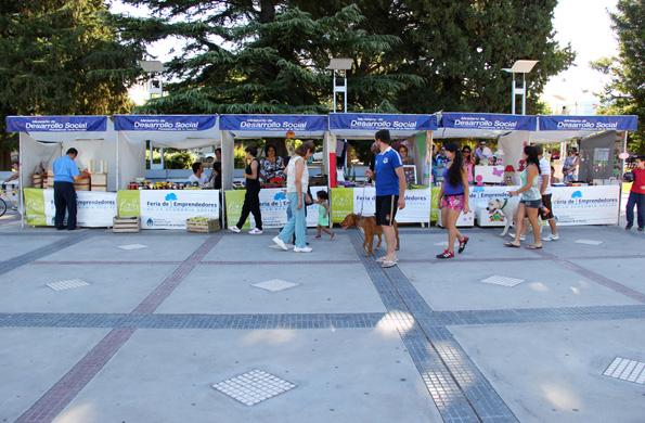 La feria se puso en marcha en la localidad de General Alvear, Mendoza.