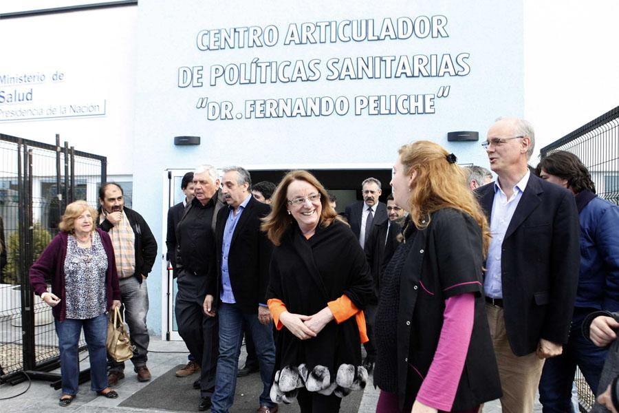 Alicia Kirchner encabezó una actividad en el Centro de Articulación de Políticas Sanitarias de Río Gallegos.