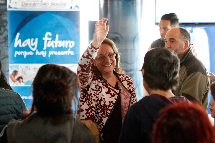 Allí anunció la adjudicación del plan de gestión de Residuos Sólidos Urbanos para la ciudad y el Parque Nacional Los Glaciares.