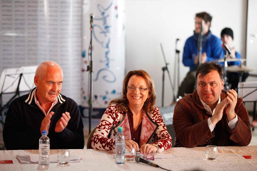 Alicia Kirchner en el CIC de El Calafate