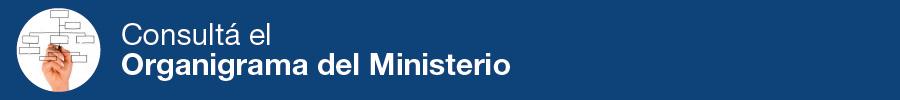 Accedé al organigrama del ministerio