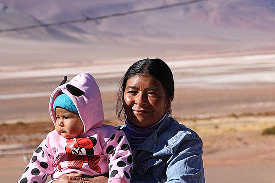 El Centro de Desarrollo Infantil está ubicado en la localidad de Tolar Grande en Salta.
