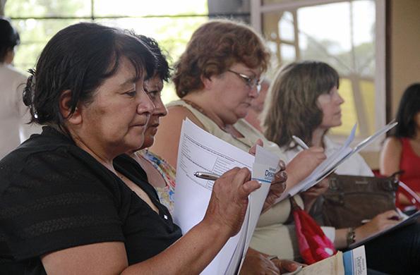 La actividad tuvo lugar el lunes pasado en la sede de las Madres de Plaza de Mayo de Tucumán.
