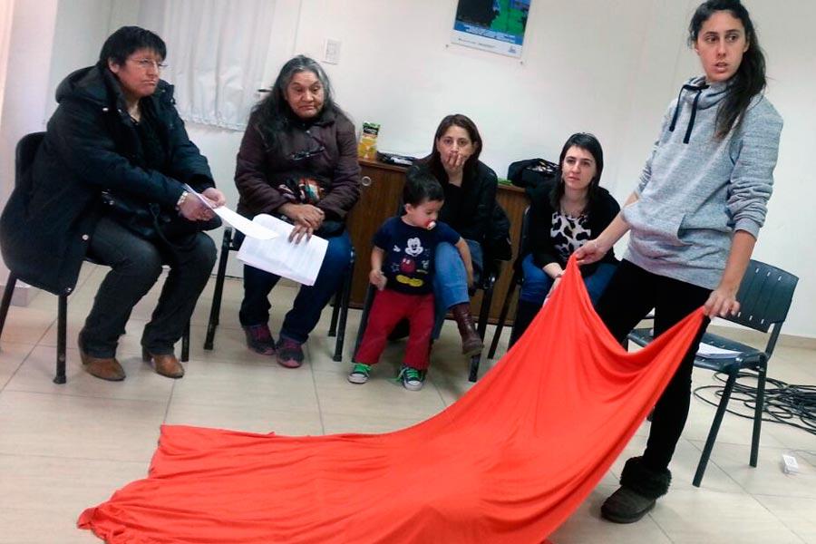 La inscripción fue para emprendedores textiles de las localidades santacruceñas de El Calafate y Río Gallegos.
