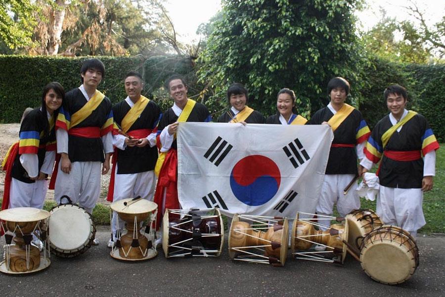 La comunidad coreana festejó sus 50 años en el país