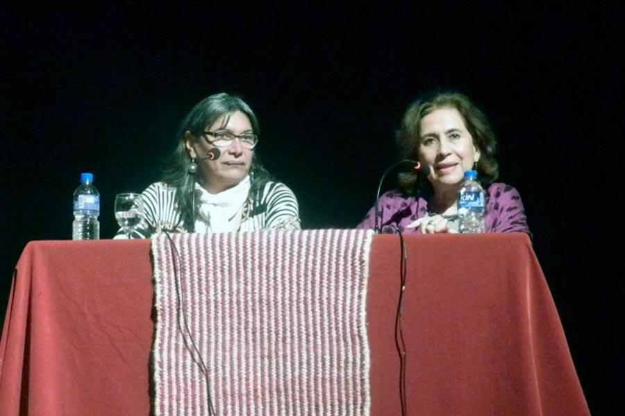 Dieron inicio a la cursada la coordinadora de la Escuela, Luisa Paz y la rectora de la Universidad, Natividad Nassif.