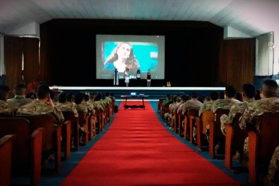 La actividad fue organizada por el Ministerio de Defensa y el Consejo Nacional de las Mujeres.