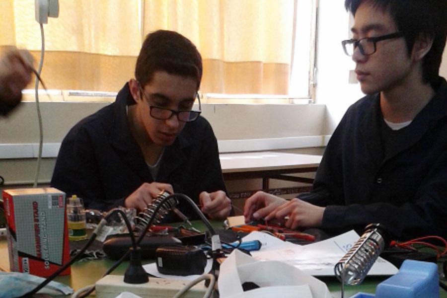 En esta oportunidad fue en la Escuela Técnica N°28 de la ciudad de Buenos Aires y participaron más de 50 estudiantes secundarios.