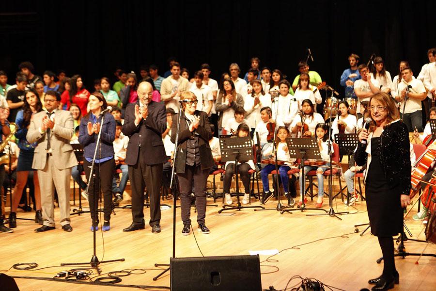 El evento tuvo lugar en la Ballena Azul del Centro Cultural Néstor Kirchner.
