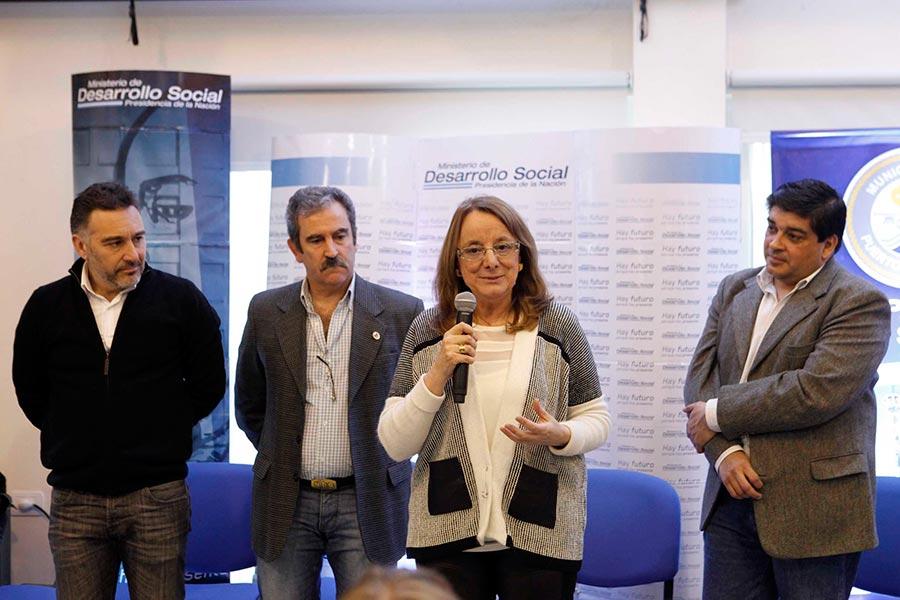 Alicia Kirchner destacó el valor del trabajo realizado en estos últimos años.