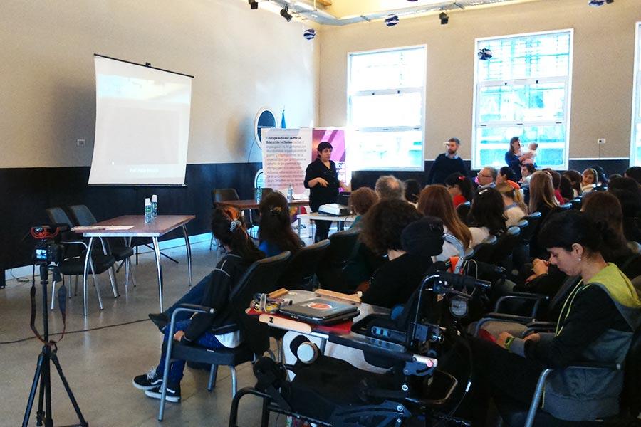 Más de 200 docentes reflexionaron sobre educación inclusiva.