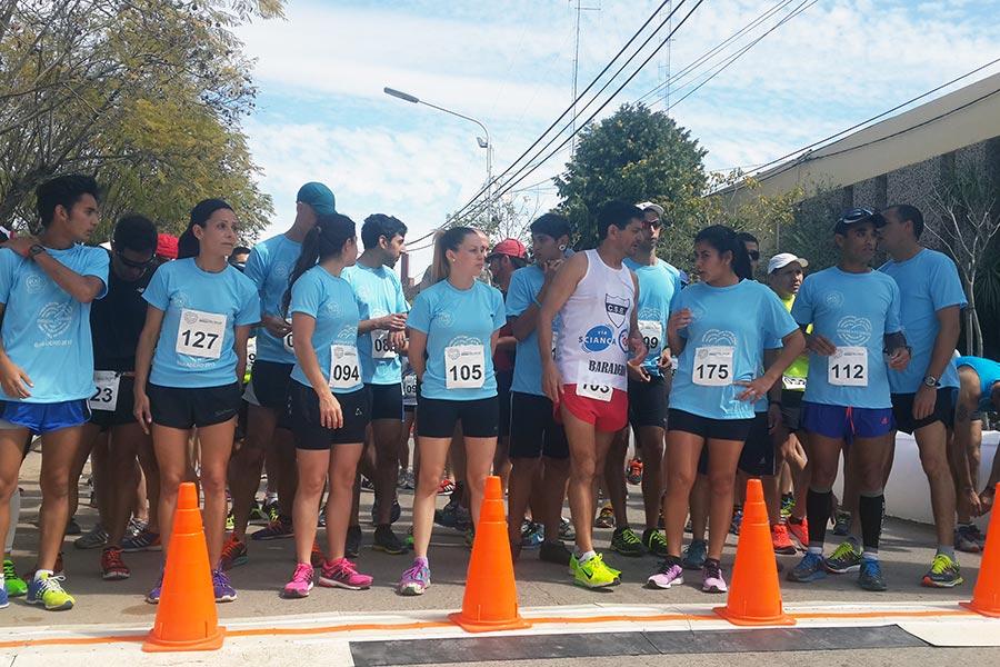 Se realizó una maratón y una caminata por la Semana del Corazón en Baradero.