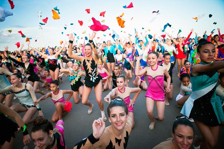 Más de 18 mil participantes en la final de los Juegos Evita en Mar del Plata.