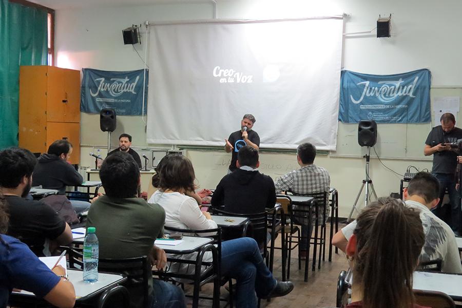 """El evento podcastero """"Creo en tu Voz"""" llega a Tucumán (archivo)."""